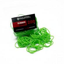BodySupply Elastici colorati 200pcs - Verde
