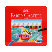 FABER CASTELL WATERCOLOUR PENCILS 24pcs