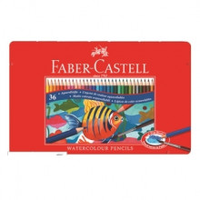 FABER CASTELL WATERCOLOUR PENCILS 36pcs