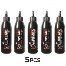 KILLERBLACK TATTOO INK - FULL KIT 5x 150ml