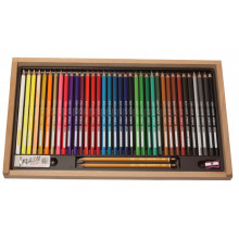 BOX SET 36 COLOURS NOT WATERCOLOUR PENCILS