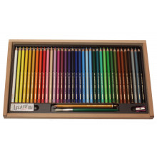 BOX SET 36 COLOURS  WATERCOLOUR PENCILS