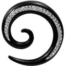 CRYSTAL HORN SPIRAL SIDE