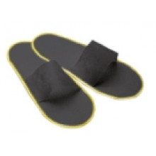 Open slippers Black - pair - Polybag 50pairs