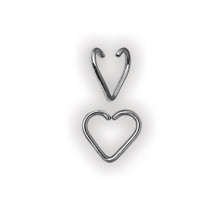 ANNEALED HEART RINGS 1,2mm
