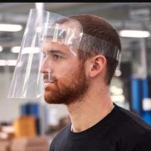 VISIERA FACCIALE IN PVC 250 MICRON